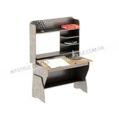 Стол для ноут. СУ-19 Базик НАЗНАЧЕНИЕ Для ноутбука ТИП Прямой ОСОБЕННОСТИ Надстройка • Регулируемый угол столешни МАТЕРИАЛ ЛДСП ДЛИНА 1050 мм ШИРИНА 680 мм ВЫСОТА 1535 мм
