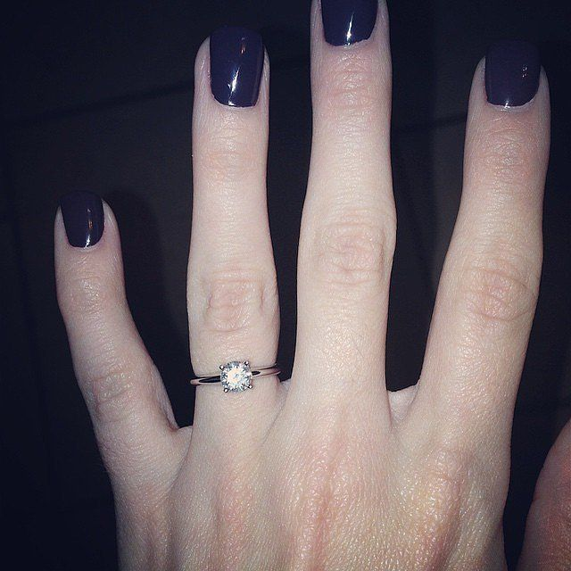 Celebrity Engagement Ring Pictures | POPSUGAR Celebrity
