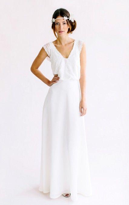 Celine | Brautmode Köln - Brautkleider und Hochzeitskleider - Victoria Rüsche Atelier