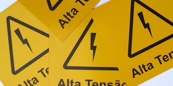 Placas de sinalização de segurança | Oficina de Sinalização