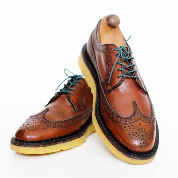 Built To Order Wingtips with Colored Soles and Benjo's ...