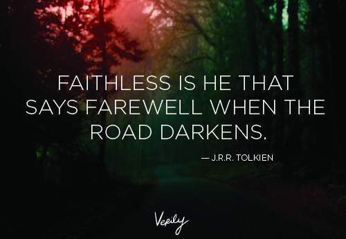 Very cool JRR Tolkien quote