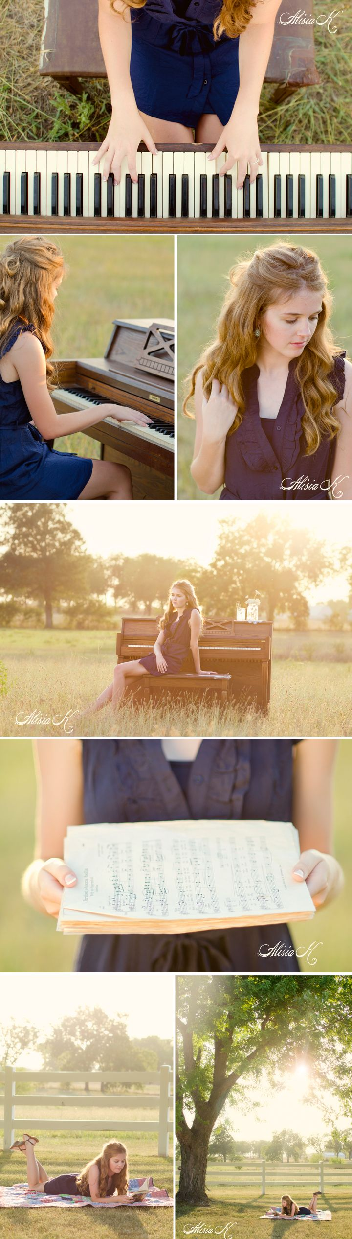 Megan . Senior Photographer . Alisia K l Springfield, Missouri