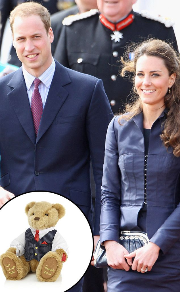 Prince William Buys Teddy Bear for Kate Middleton and Their Royal Baby Boy: See the Adorable Gift!