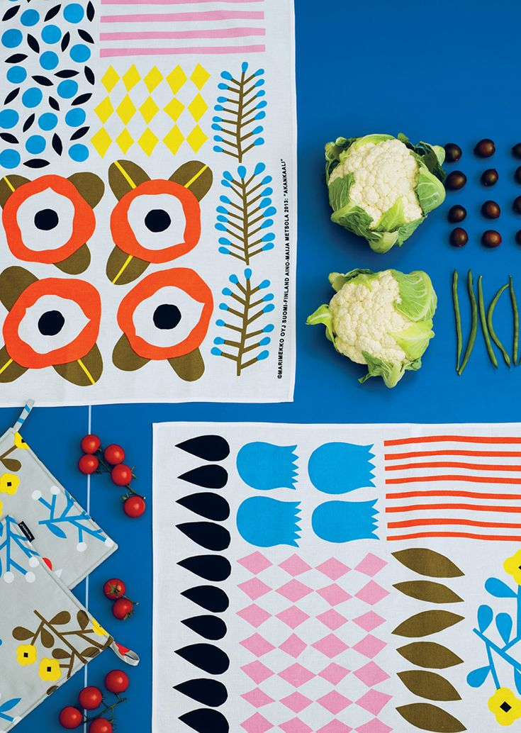 Marimekko Spring 2014 collection via happymundane.com