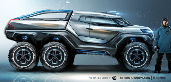 Can-Am Outmoster by Frédéric LE SCIELLOUR, via Behance
