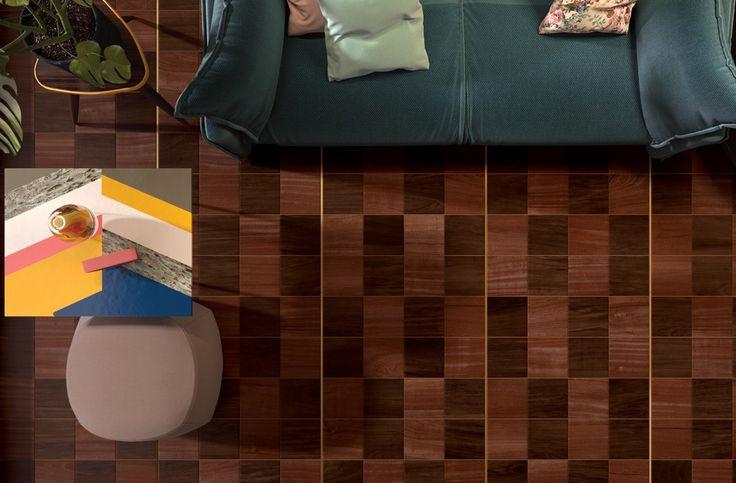 Imitace barvené parkety Essences | Keramika Soukup