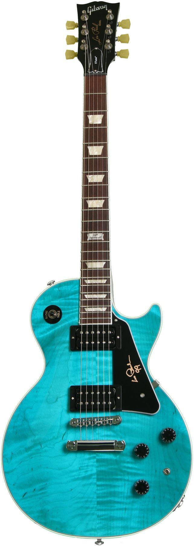 Gibson Les Paul Signature 2014 Carribean Blue