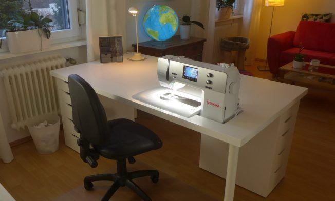 Mein neuer Nähtisch (Teil 1) » BERNINA Blog