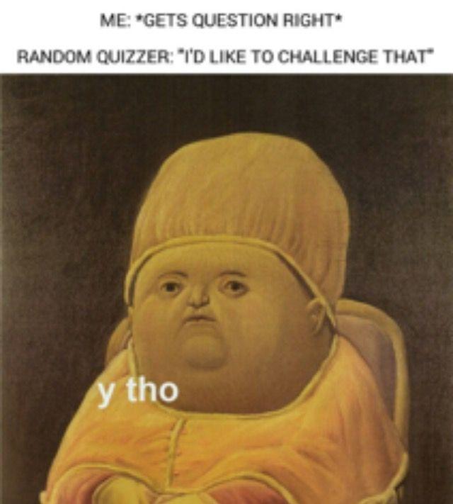 Senior bible quizzing memes
