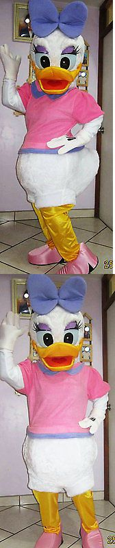 Halloween Costumes: Daisy Duck Mascot Fancy Costume Cartoon Party Adult Size -> BUY IT NOW ONLY: $175 on eBay!