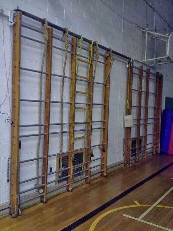 School PE apparatus