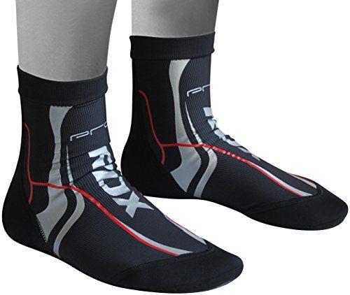 RDX Fitness Boxe Supporto Caviglia Sport Elastica MMA Cavigliera Tutore Fascia Calze