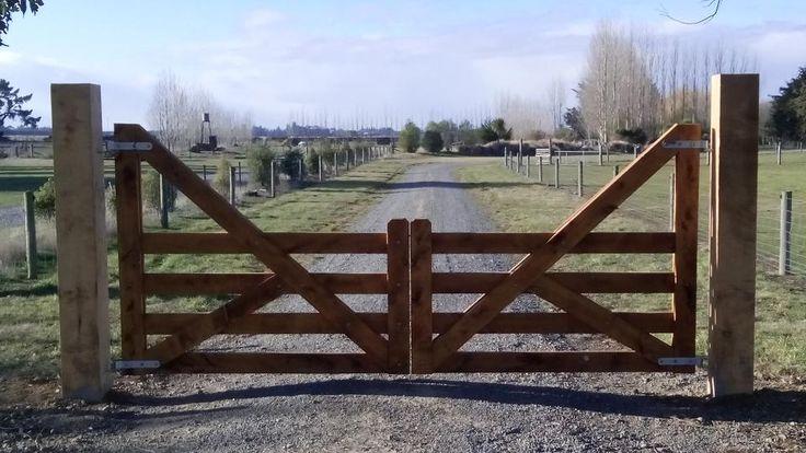 Best driveway gates images on pinterest entrance