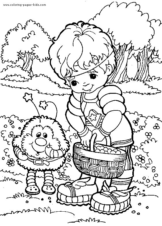 217 best Crafty (80's Rainbow Brite) Coloring images on