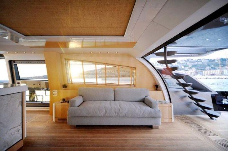 motor yacht interior Yacht Design – Baia One Hundred – Superyachts ...