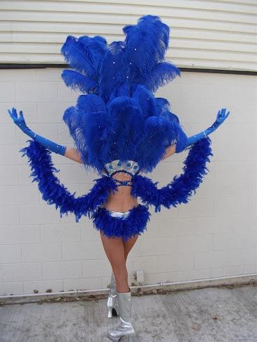 Las Vegas Showgirl Costume  by Clique Costumes Las Vegas