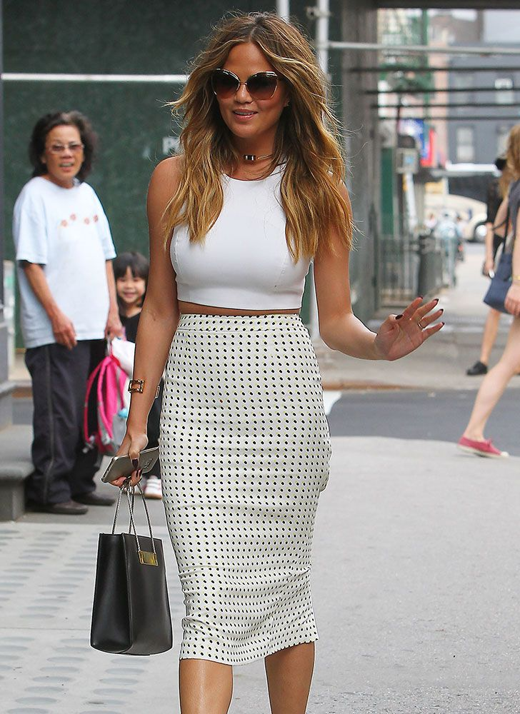 The Many Bags of Chrissy Teigen