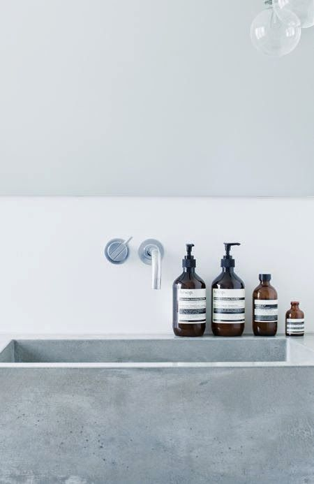 Inspiration for your bathroom | grey shades