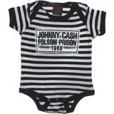 Johnny Cash Folson Prison 1968 One-Piece: Daddy Kids, Geek Kids, Cash Folson, Prison 1968, Johnny Cash, Baby Onesie, Folson Prison, Bands Tees, Baby Stuff