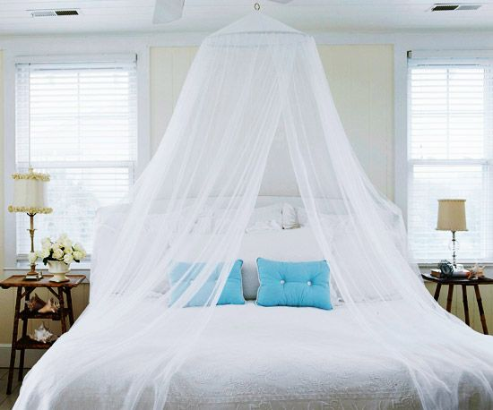 Decorar con mosquiteras