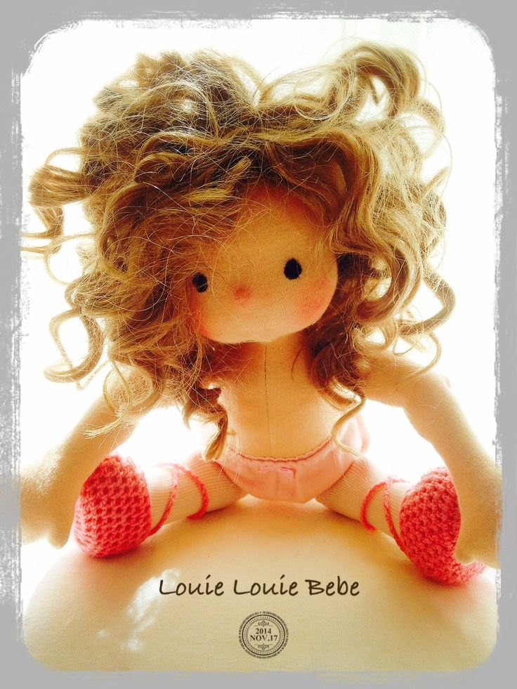 LLB Miss Dakota, a Louie Louie Bebe Waldorf inspired doll