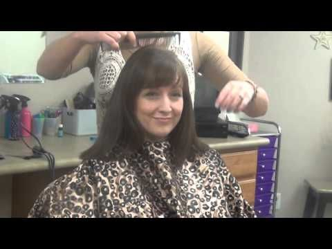 Superior (Mid Length Hairstyles) Medium Length Hair Hairstyle In This Video, RaDona  Shows How To Cut Layers Into Hair While It Is Dry.