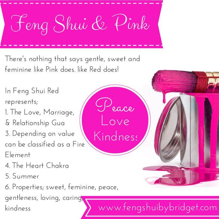 Feng Shui & Pink