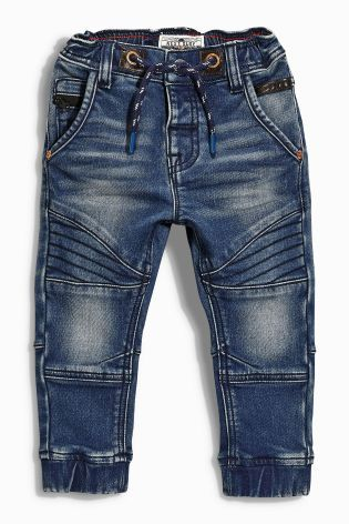 Buy Jersey Biker Pull-On Jeans (3mths-6yrs) online today at Next: United States of America