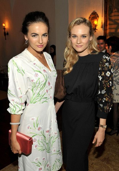 """Camilla Belle Photos Photos - Actors Camilla Belle and Diane Kruger attend Lucrecia Martel's """"Muta"""" presented by MIU MIU at a private residence on July 19, 2011 in Beverly Hills, California. - MIU MIU Presents Lucrecia Martel's """"Muta"""" - Inside"""