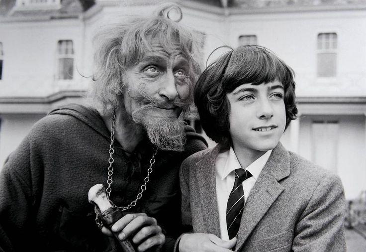 Geoffrey Bayldon and Gary Warren in Catweazle, 1970-71