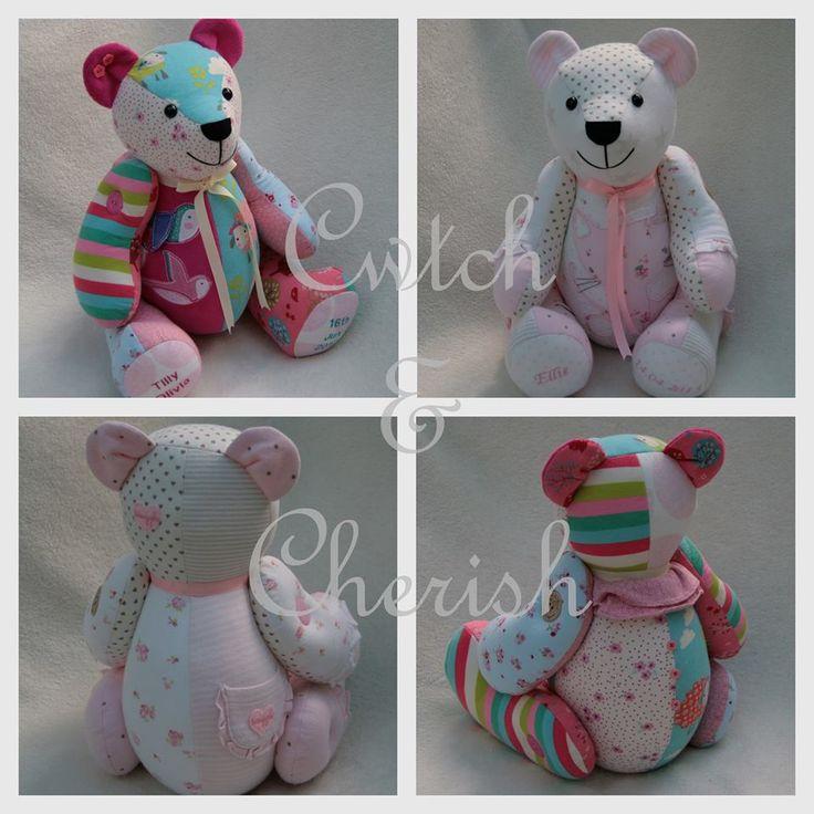 memorybears. Turn baby grows into a teddy.