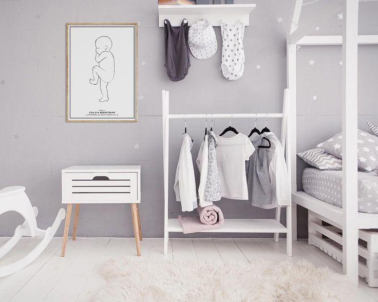 #birthprint #nordicnursery #studionatal #nurserydecor