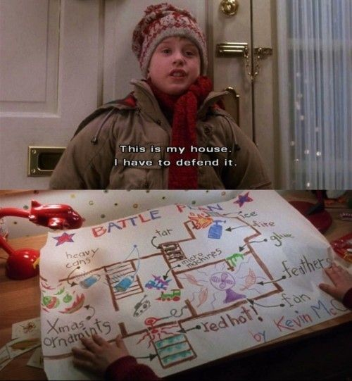 He devises a master plan to protect his house, rather than just run away. | Community Post: Why Kevin McCallister Is Not Your Average Kid