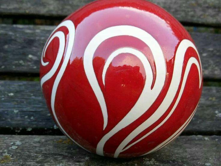 Swirly Red