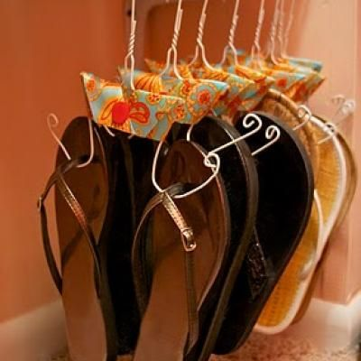 How to make a shoe hanger