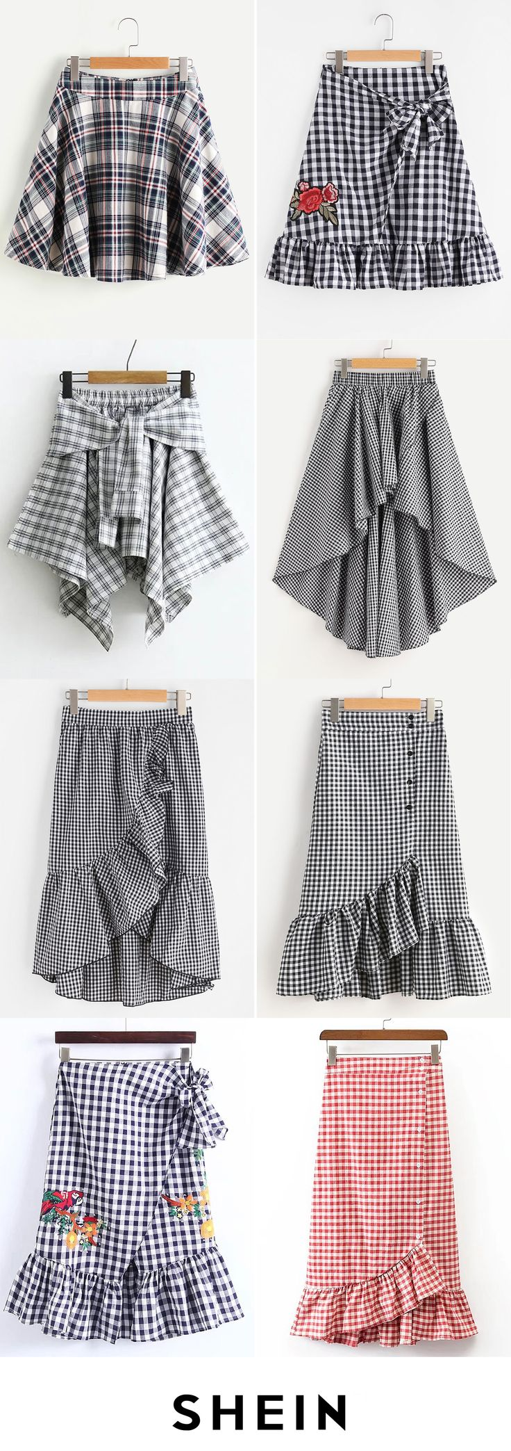 Grid skirts