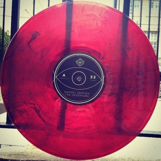 Gorgeous raspberry Rachel Zeffira vinyl