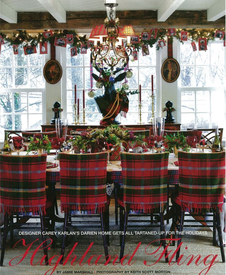 Would Be Fun To Slip Cover Dining Chairs For The HolidaysCarey Karlan CT Cottage Gardens Photo By Keith Scott Morton