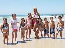 Kate Plus 8-on TLC. Love how she treated her husband.  Great role model for all those kids.