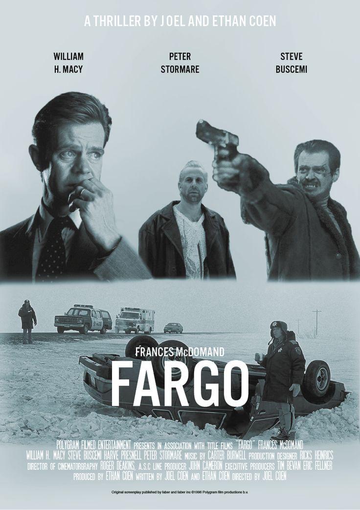 Movie poster from Fargo 1996