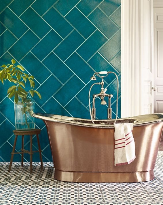 Wall Tiles How To Introduce Marrs Green Into Your Home Marr Vannye Mechty Interer Vannoj Komnaty Dom