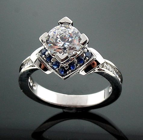 Antique Engagement Rings | Inspiration Songket Affairs : Vintage Ideas: Antique wedding rings