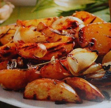 Grilované zemiaky