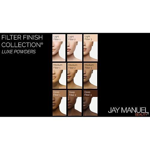 Jay Manuel Beauty® Luxe Powder - Medium Filter 1