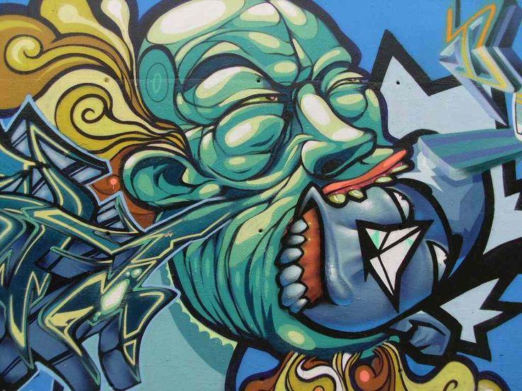 graffiti art | Graffiti Art Wall That Contains The Message
