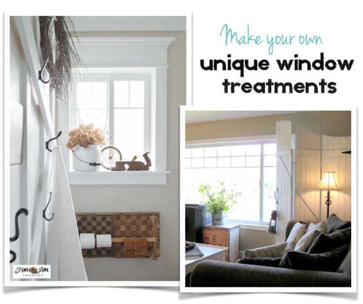 5 Fresh Ideas For Kitchen Window Treatments: 17 Best Images About Decor: WINDOW Treatments On Pinterest