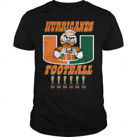 I Love Canes Football T-Shirt Shirts & Tees