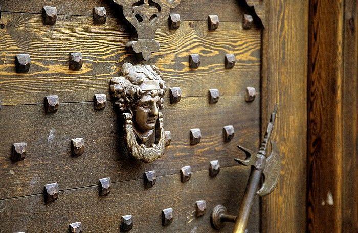 Damaskus Altstadt: Tür