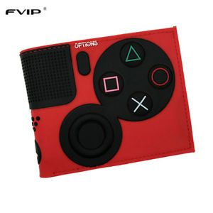 Details about  Game PlayStation 4 Wallet With Coin Pocket ID Card Holder 3D Touch PVC